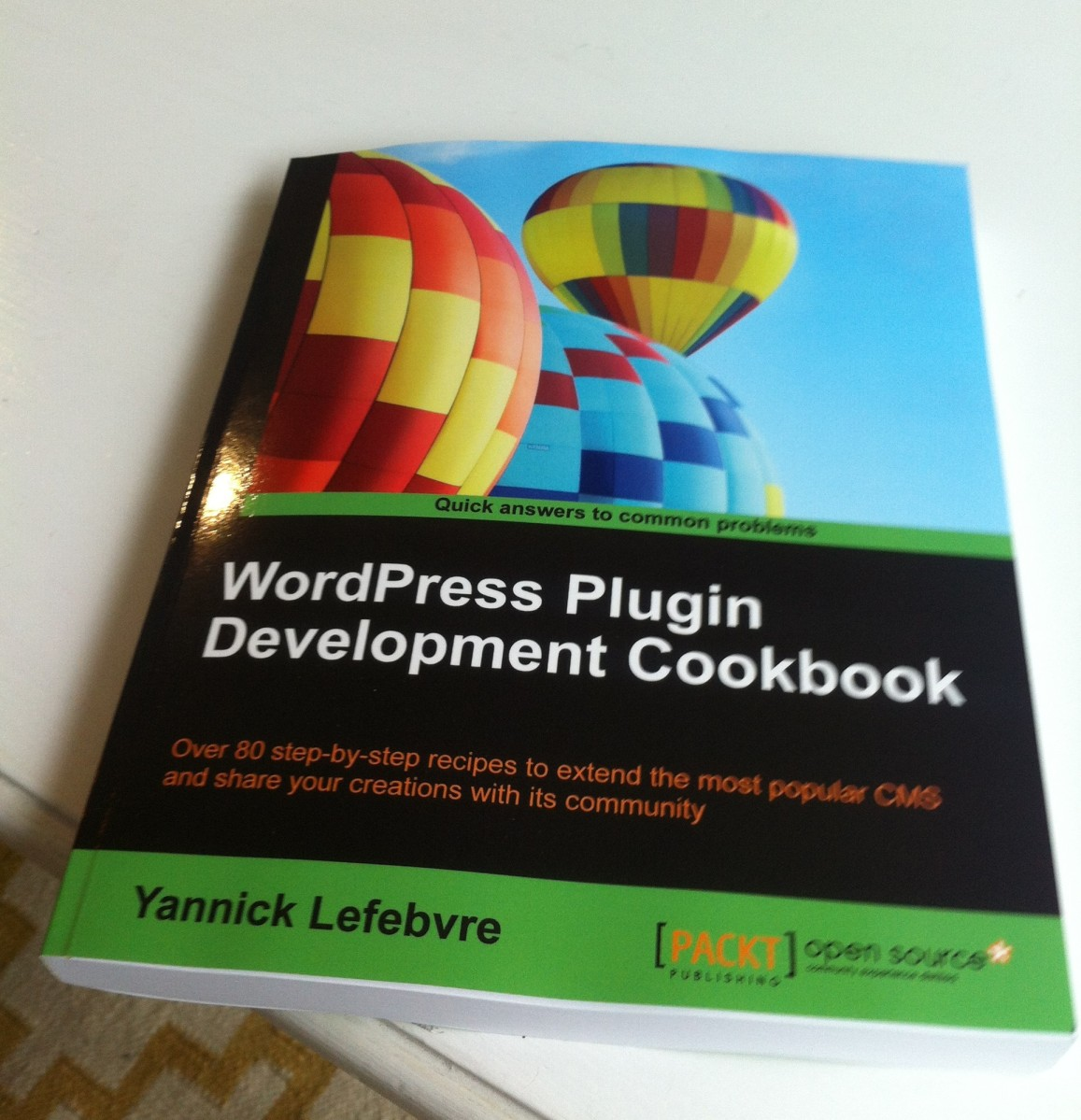 WordPress Plugin Development Cookbook Book Cover