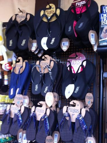 5 different flip flops