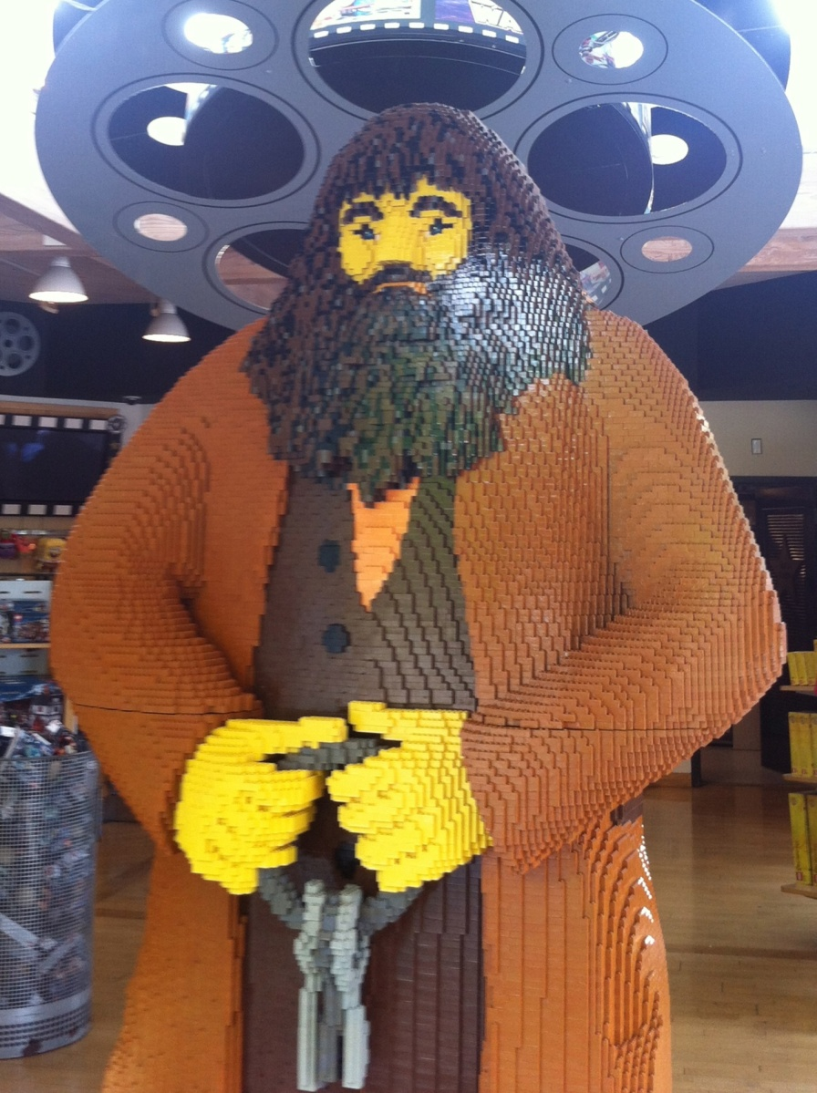 Hagrid with an 8+ inch beard