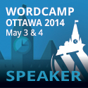 I'm speaking at WordCamp Ottawa!